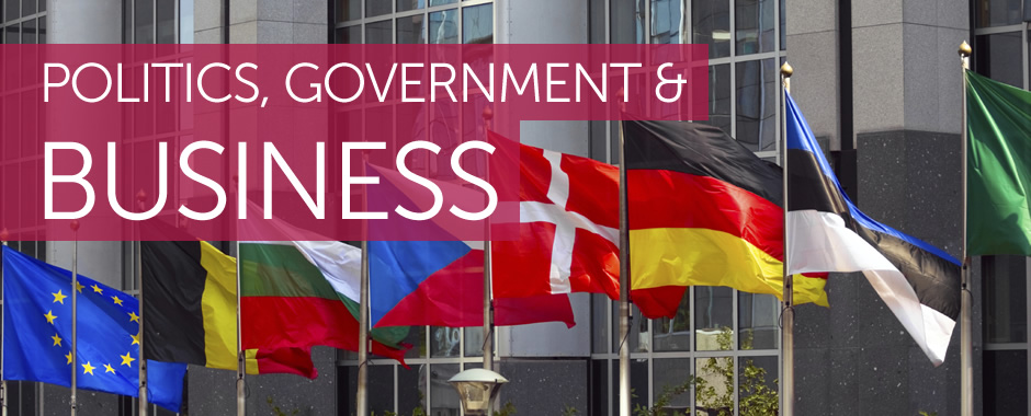 Politics, government & business